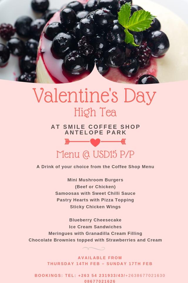 Valentine's Day High Tea At Antelope Park