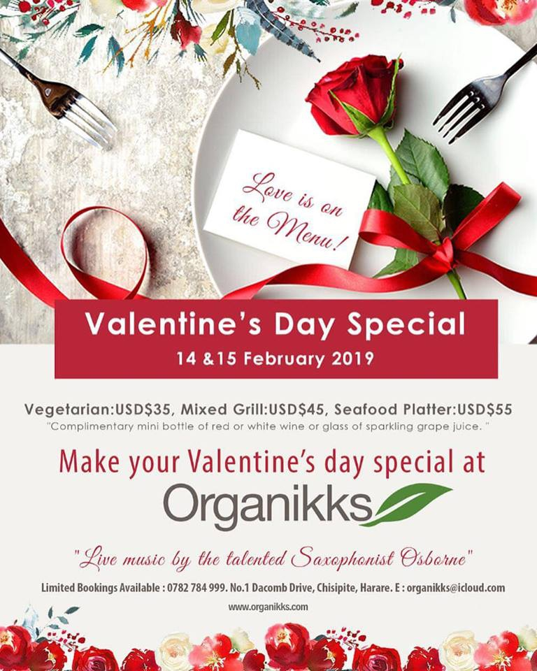 Valentine's Day Special At Organikks