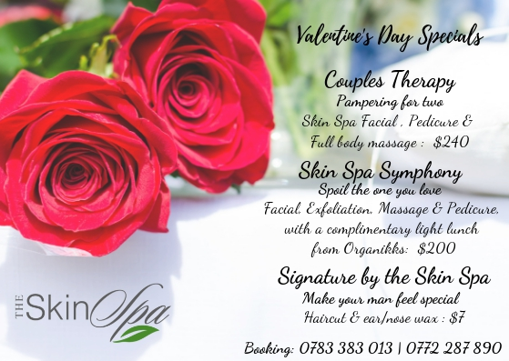 Valentine's Day Special At Skin Spa