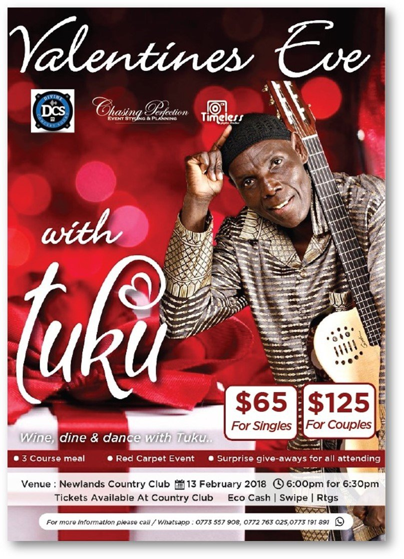 Valentines Eve With Tuku - 13 February 2018