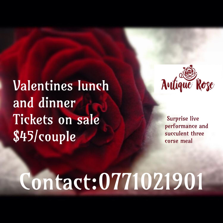 Valentines Event At Antique Rose