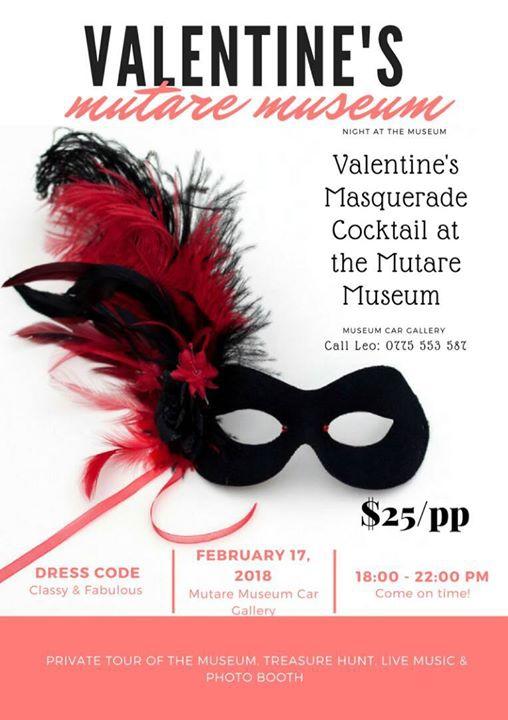 Valentine's Masquerade Cocktail