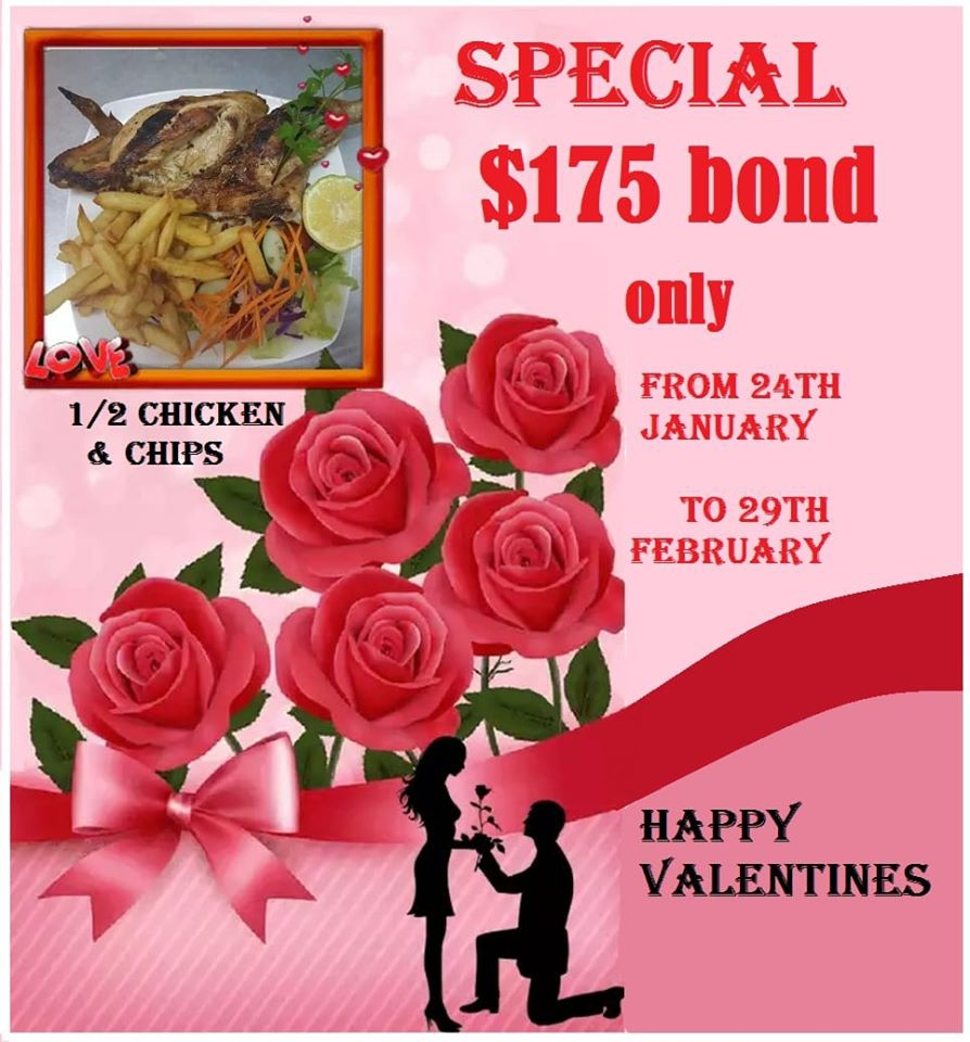 Valentine's Special at Paula's Place