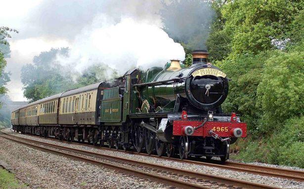 Valentines Special Steam Train