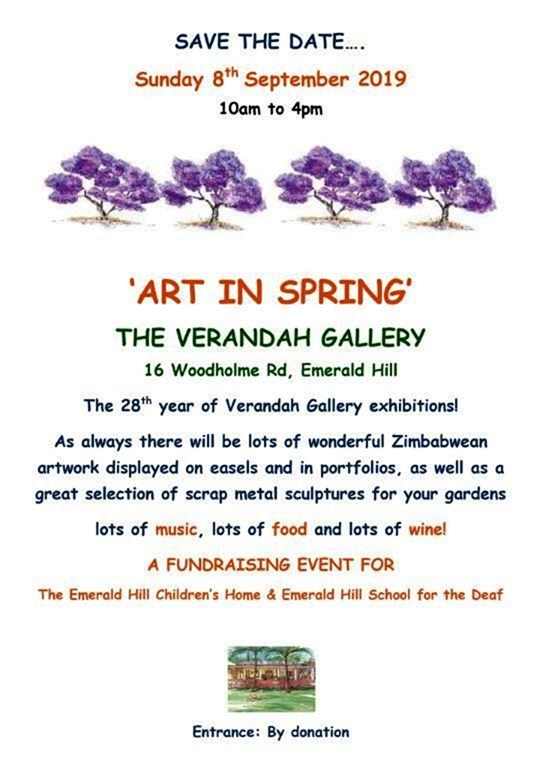 Verandah Gallery's Art In Spring.