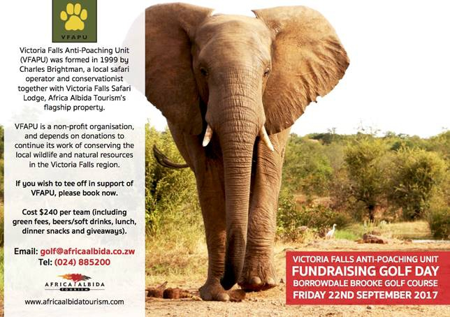 Victoria Falls Anti-Poaching Unit Annual Fundraiser Golf Day