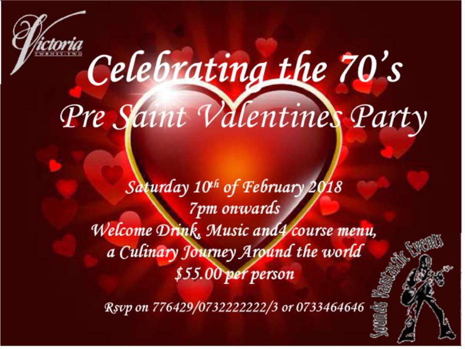 Victoria Twenty-Two Pre Valentine Party