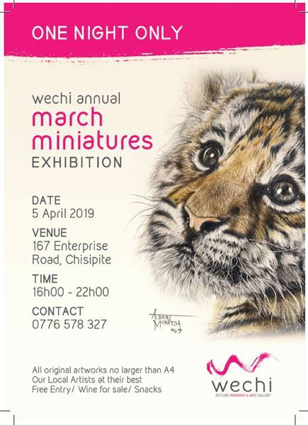 Wechi Annual March Miniatures Exhibition