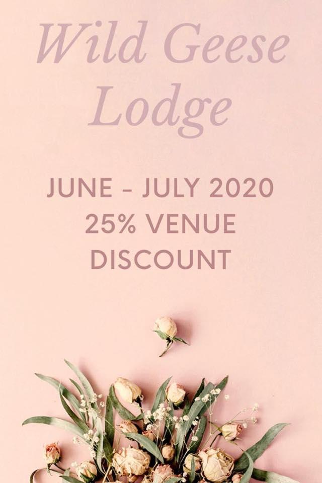 Wild Geese Lodge Weddings Special