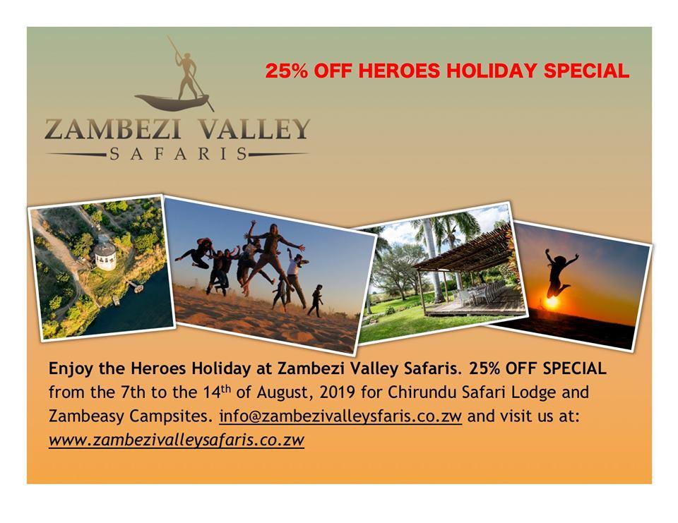Zambezi Valley Safaris - Heroes Holiday Special