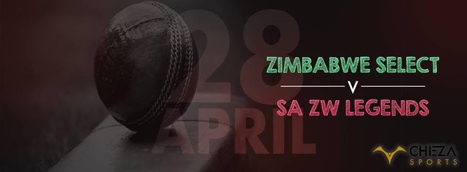 Zim and SA Legends vs Zim Select Cricket Match