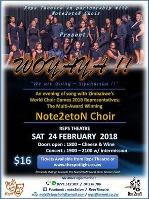 Zimbabwe World Choir Games 2018