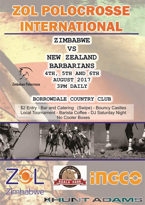 Zol International Polocrosse in Harare