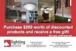 Lighting World 50% Sale