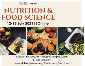 Webinar on Nutrition & Food Science